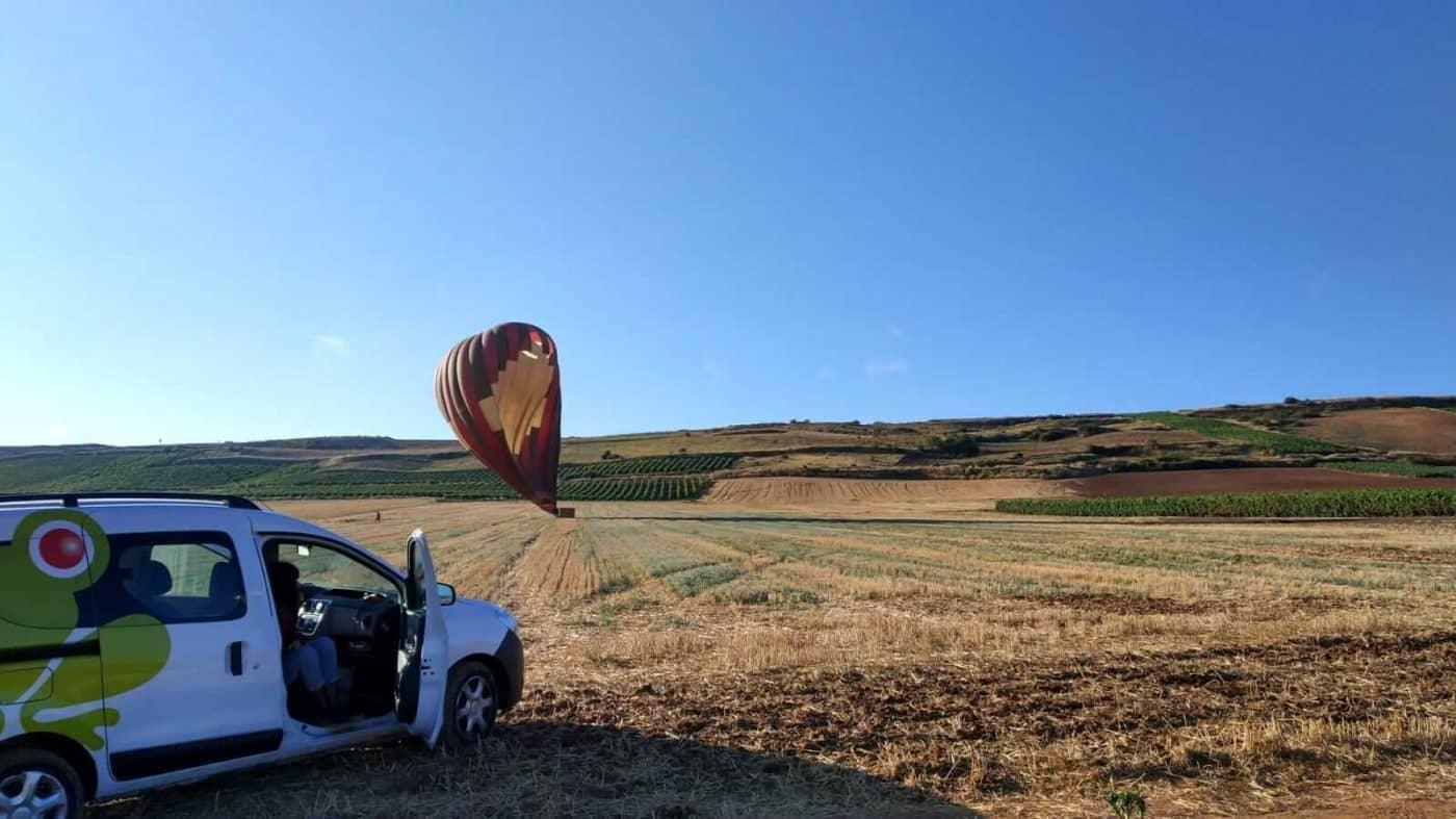 """Mi primer vuelo en globo: """"El aterrizaje ha sido elegante"""" 7"""