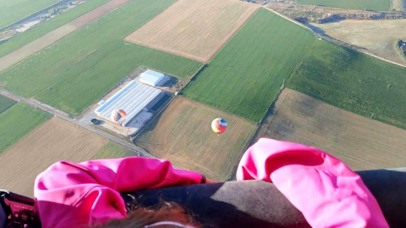"""Mi primer vuelo en globo: """"El aterrizaje ha sido elegante"""" 6"""