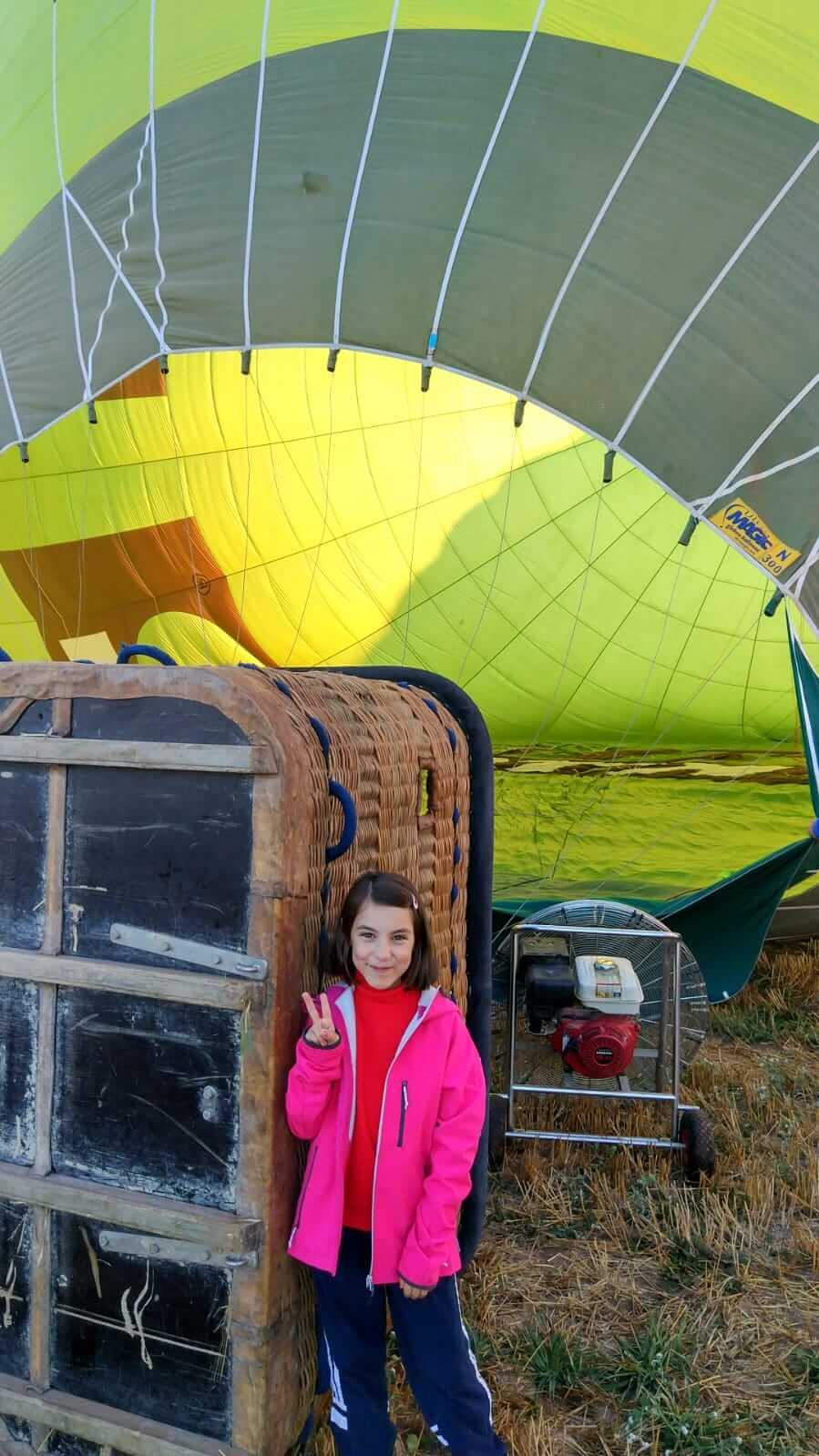 """Mi primer vuelo en globo: """"El aterrizaje ha sido elegante"""" 4"""