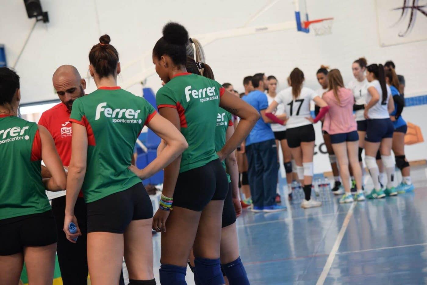 Minis de Arluy Voleibol Logroño, ganador del Memorial Lorena Ojeda 2