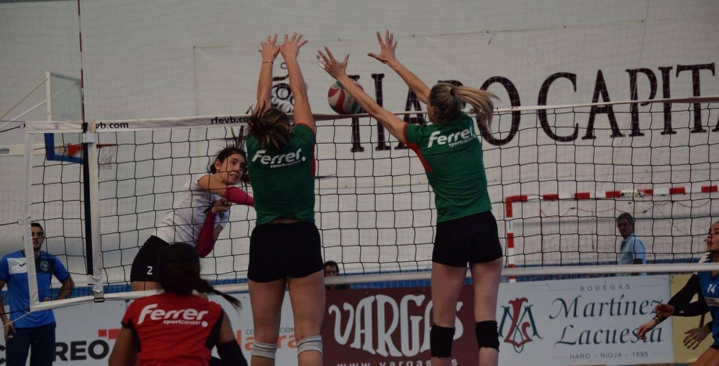 Minis de Arluy Voleibol Logroño, ganador del Memorial Lorena Ojeda 3