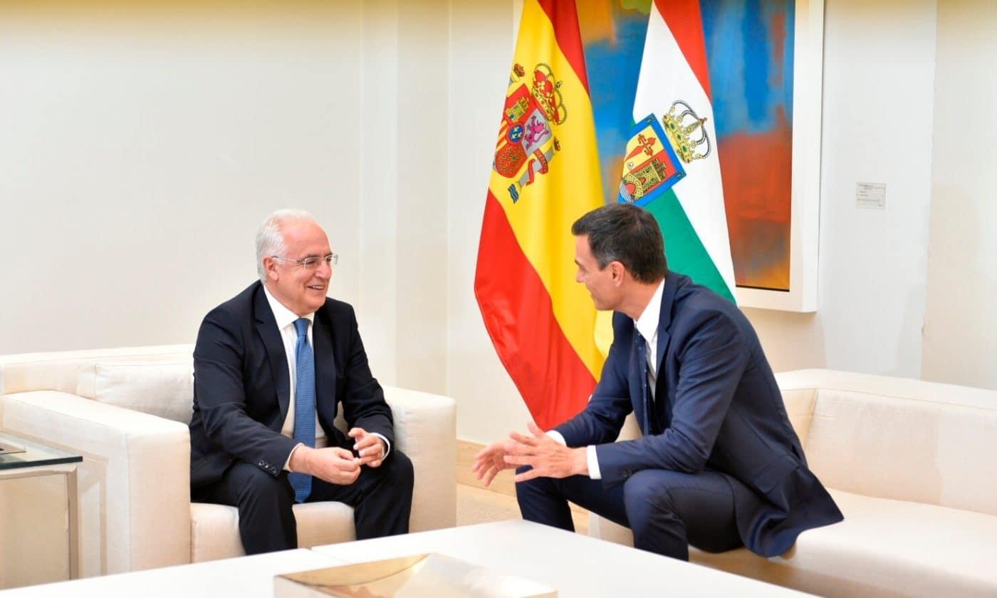 """Sánchez se compromete a """"desbloquear"""" las infraestructuras paralizadas por el anterior Ejecutivo en La Rioja 1"""