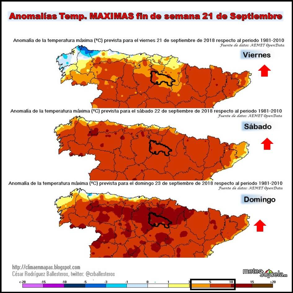 Tiempo veraniego en La Rioja para esperar la entrada del otoño 1