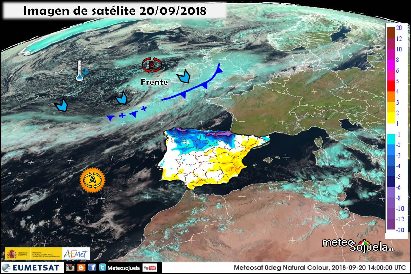 Tiempo veraniego en La Rioja para esperar la entrada del otoño 2