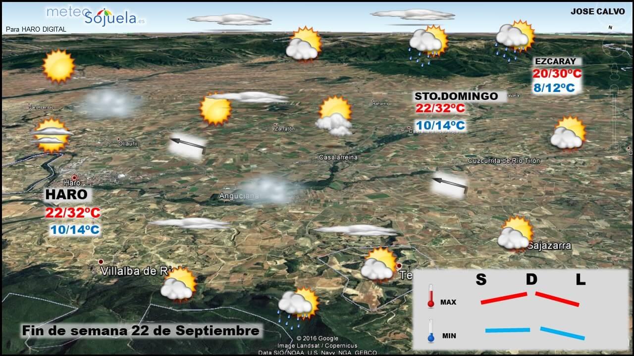 Tiempo veraniego en La Rioja para esperar la entrada del otoño 3