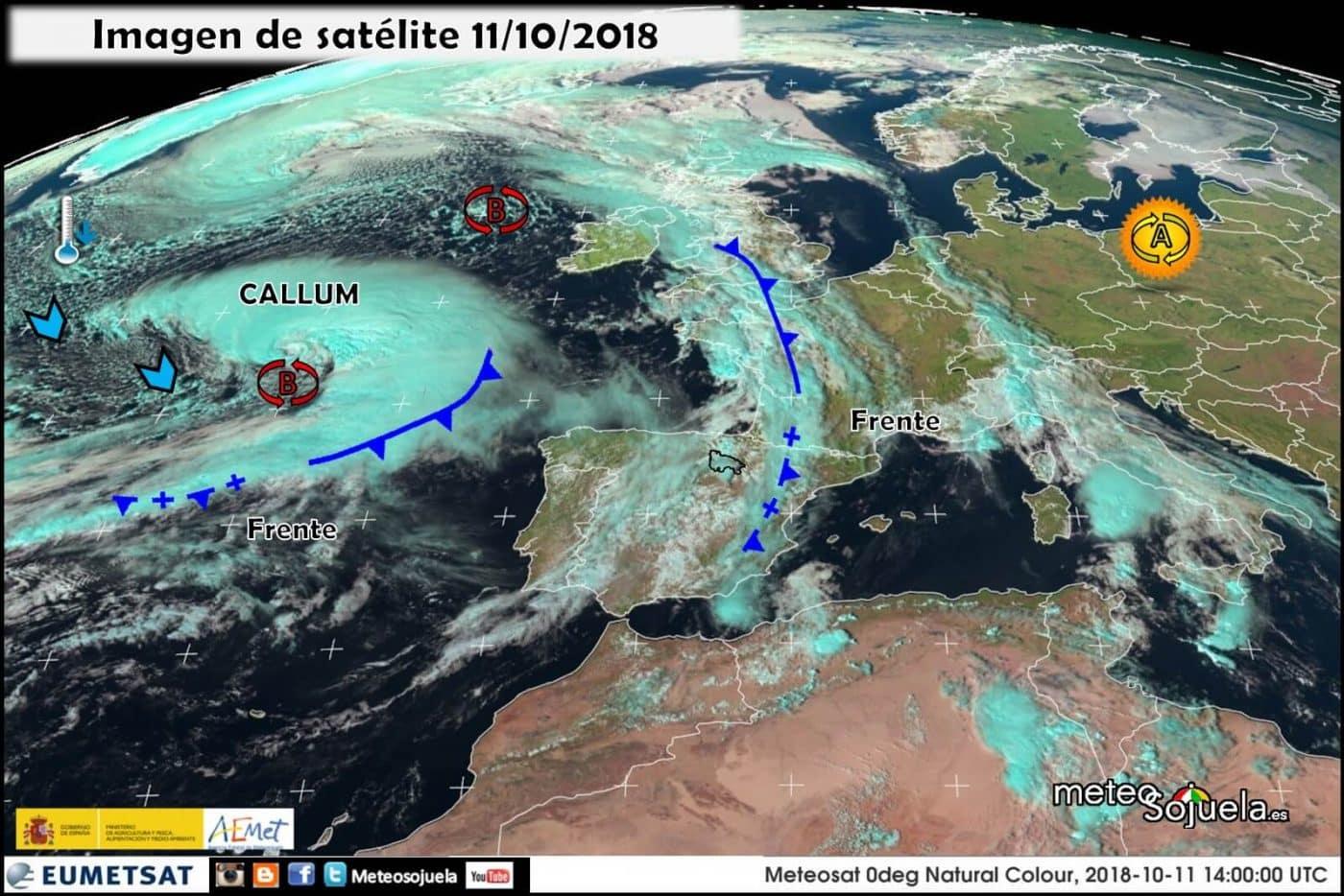 Atención a los posibles efectos indirectos de Leslie y Michael en La Rioja 3