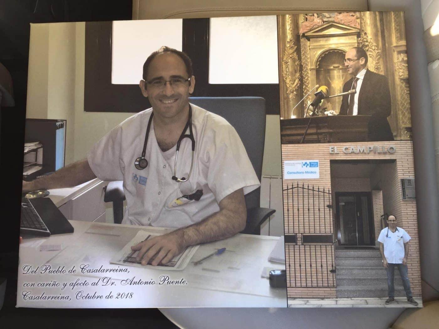 Casalarreina despide al doctor Puente, su médico de familia desde hace una década 3
