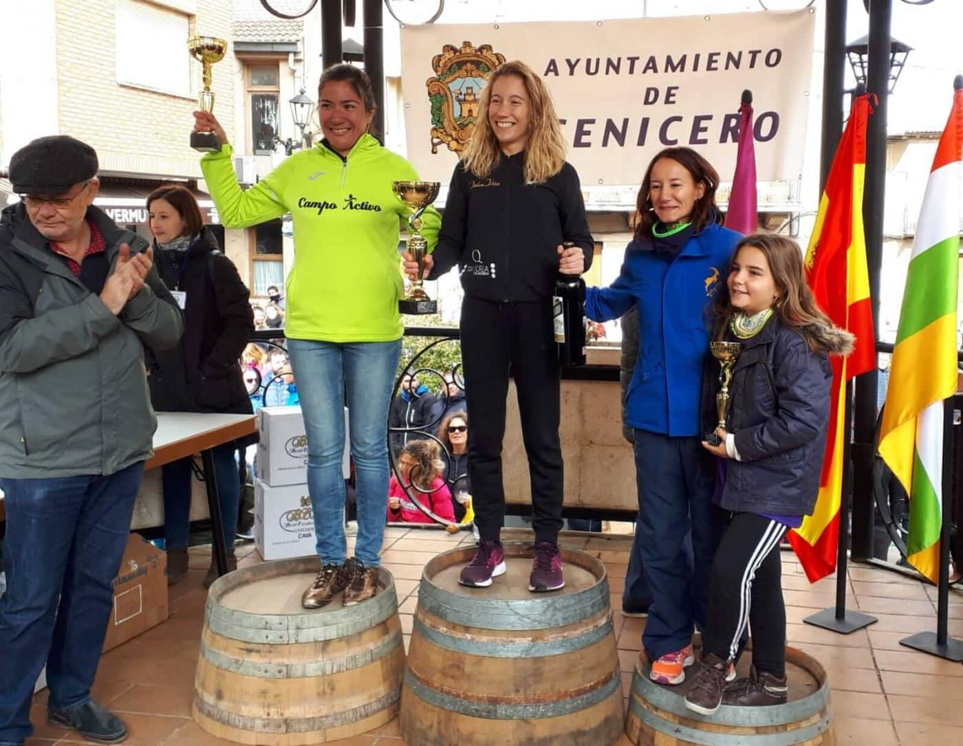 David Martínez y Paula Sanz del Río, ganadores de la Carrera Entre Viñedos Smart 1