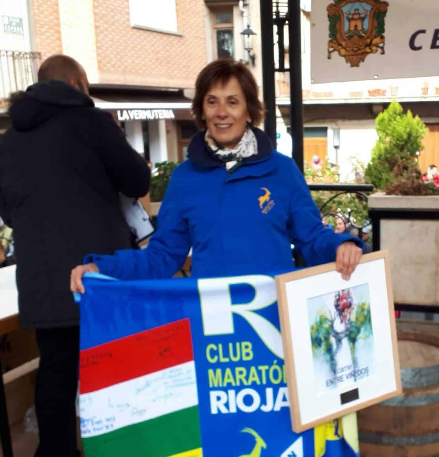 David Martínez y Paula Sanz del Río, ganadores de la Carrera Entre Viñedos Smart 2