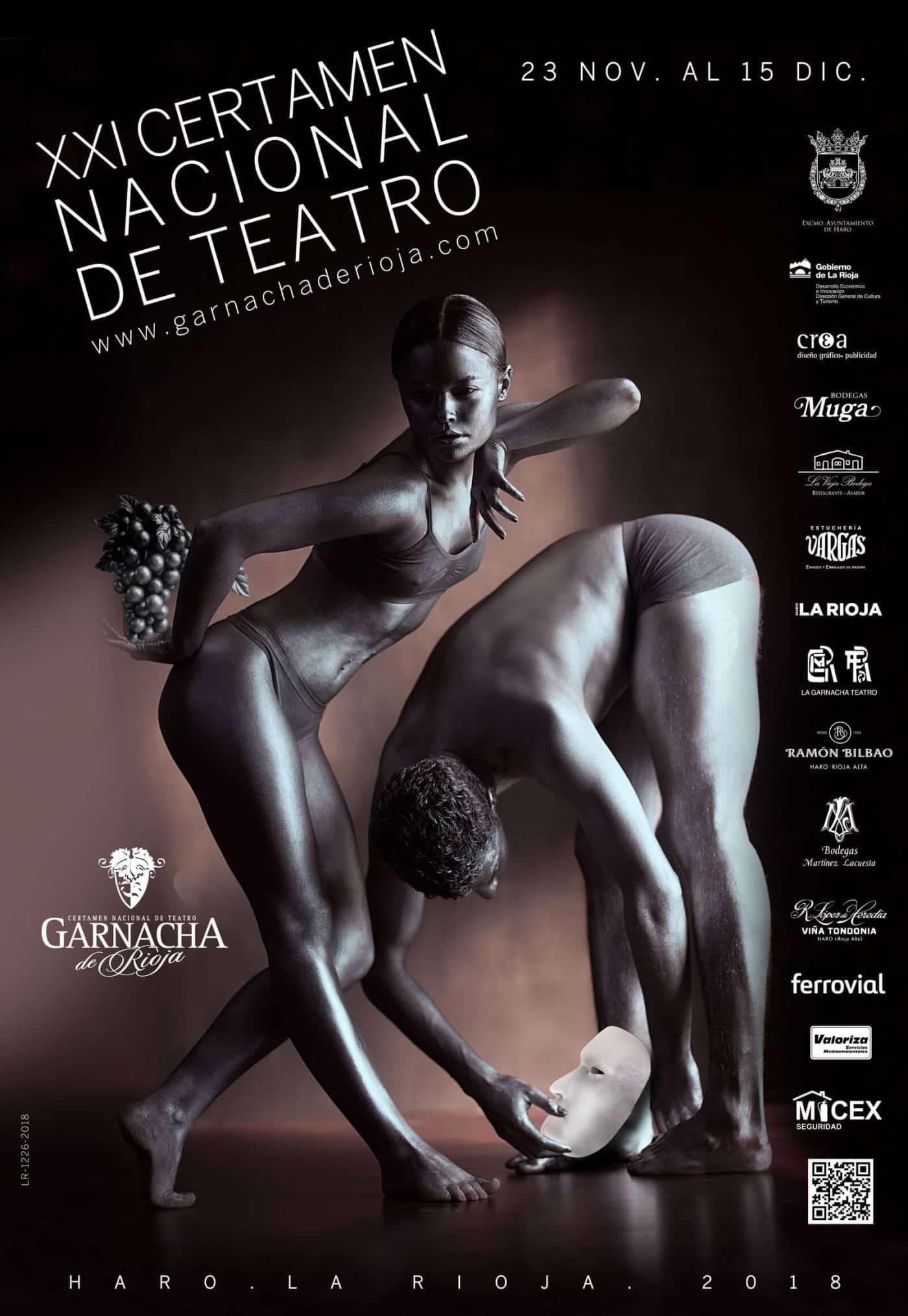 La fase oficial del Certamen de Teatro Garnacha de Rioja abrirá el telón el 30 de noviembre 1