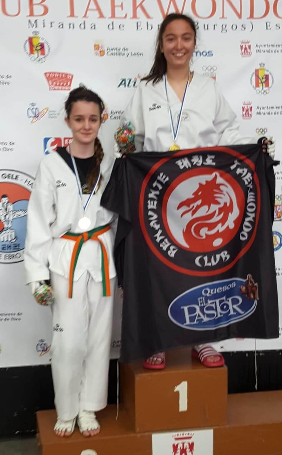 El Club Taekwondo Casalarreina se cuelga cinco medallas en el Open Ciudad de Miranda 1