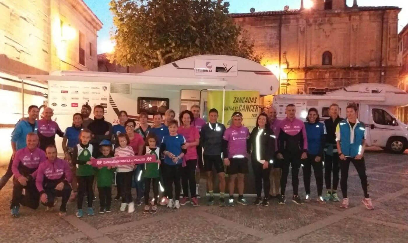 El desafío 'Zancadas contra el cáncer' continúa tras su paso por Santo Domingo 1