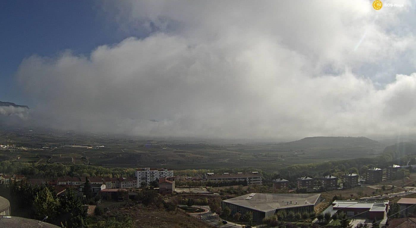 Foto: Cámara web de SOS Rioja en Haro.