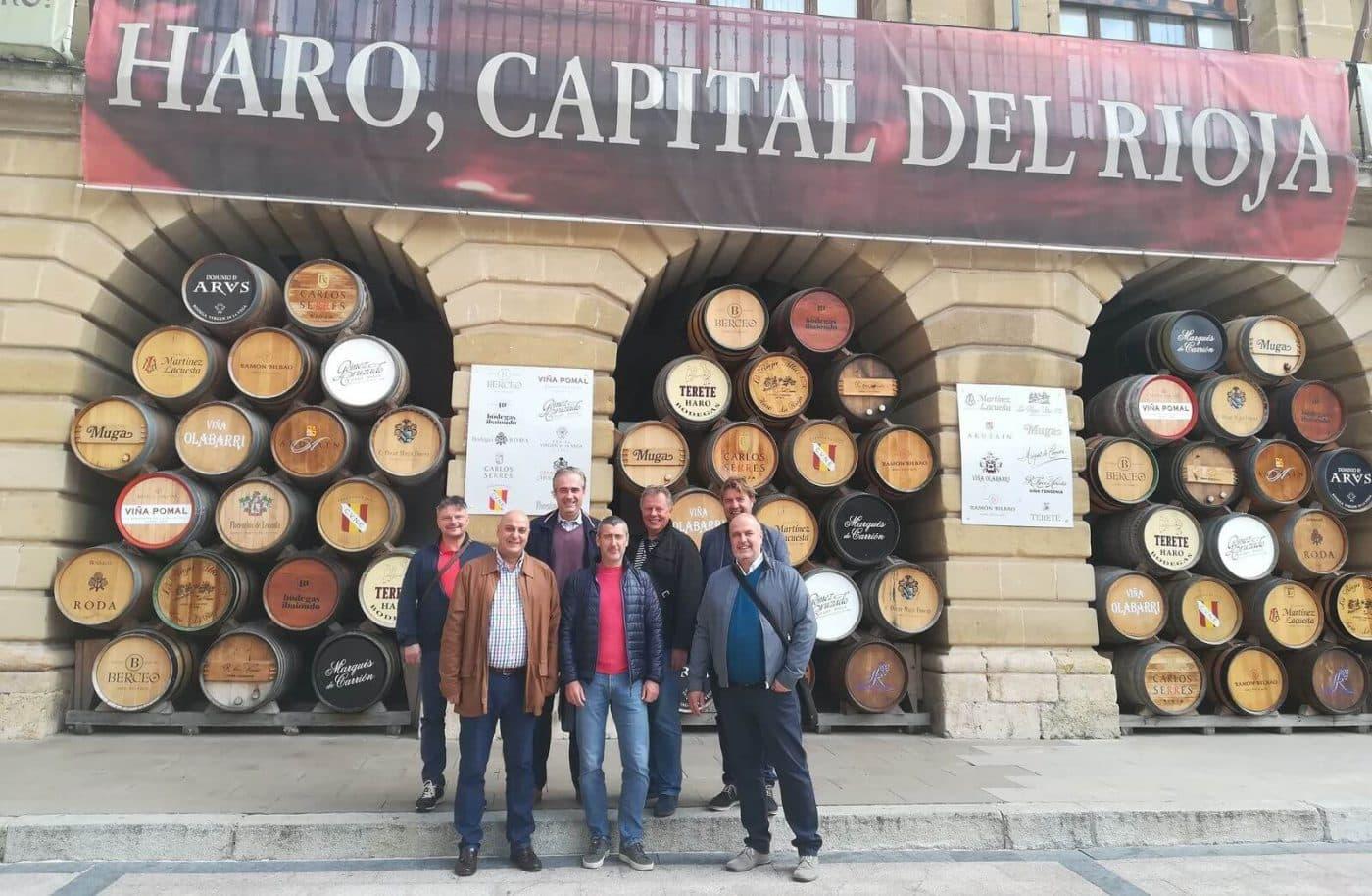 Empresarios checos visitan Haro 1