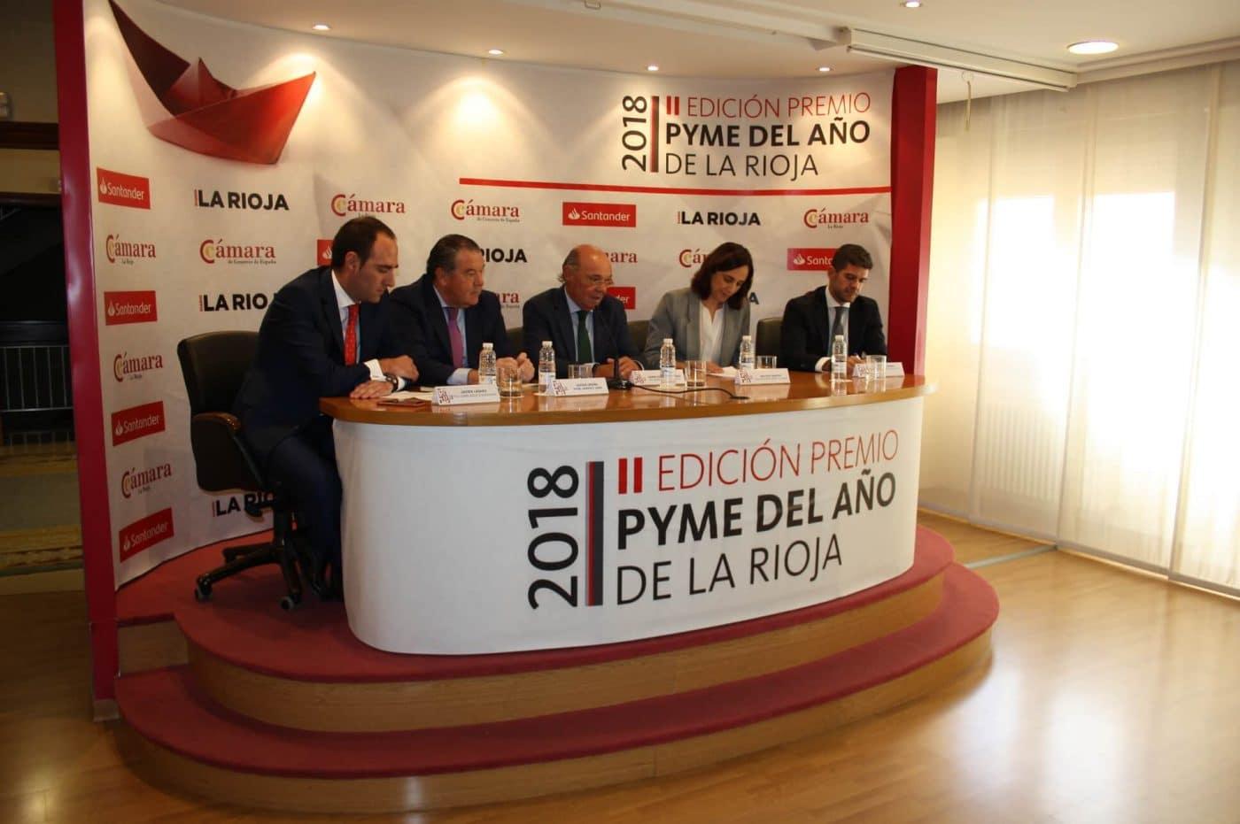 Euro-Seating International de Ezcaray, Premio Pyme del Año de La Rioja 1