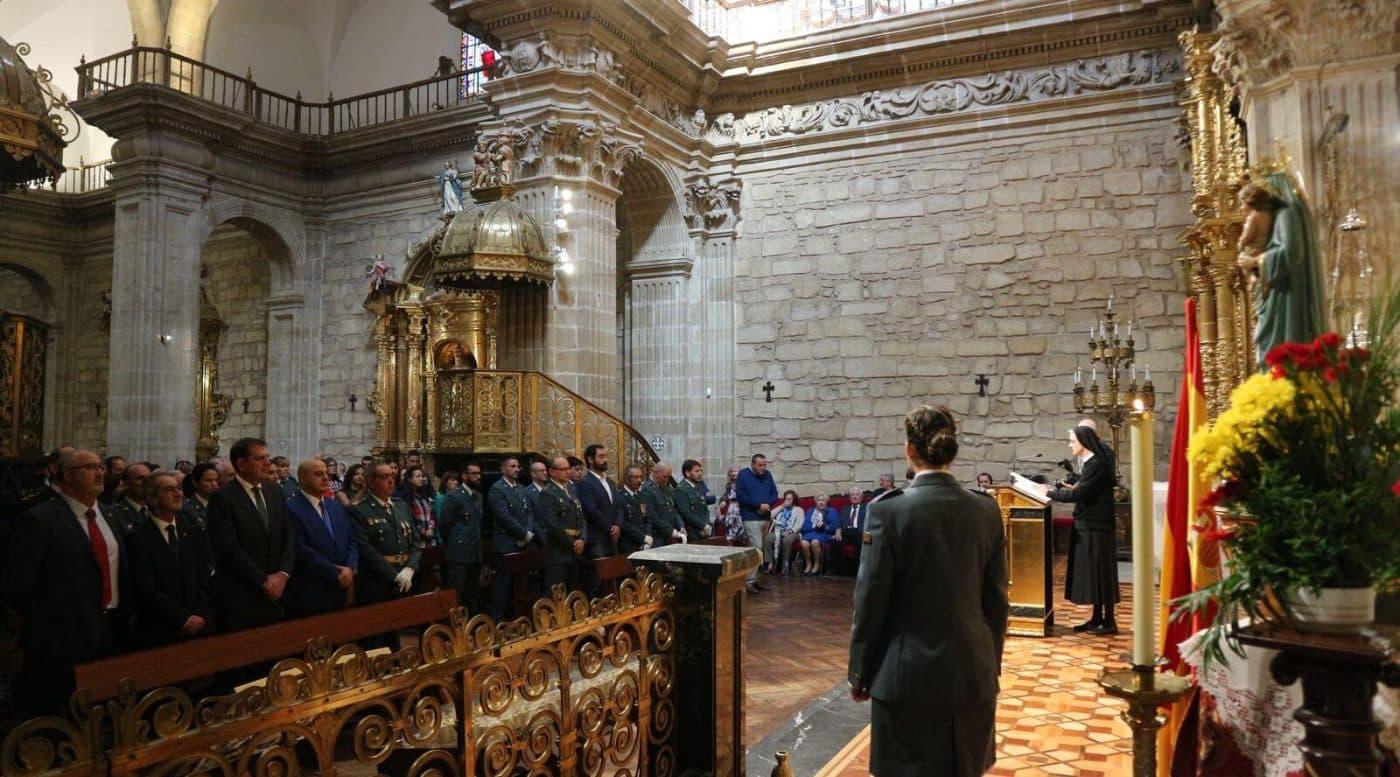 La Guardia Civil de Haro celebra el día de su patrona, la Virgen del Pilar 1