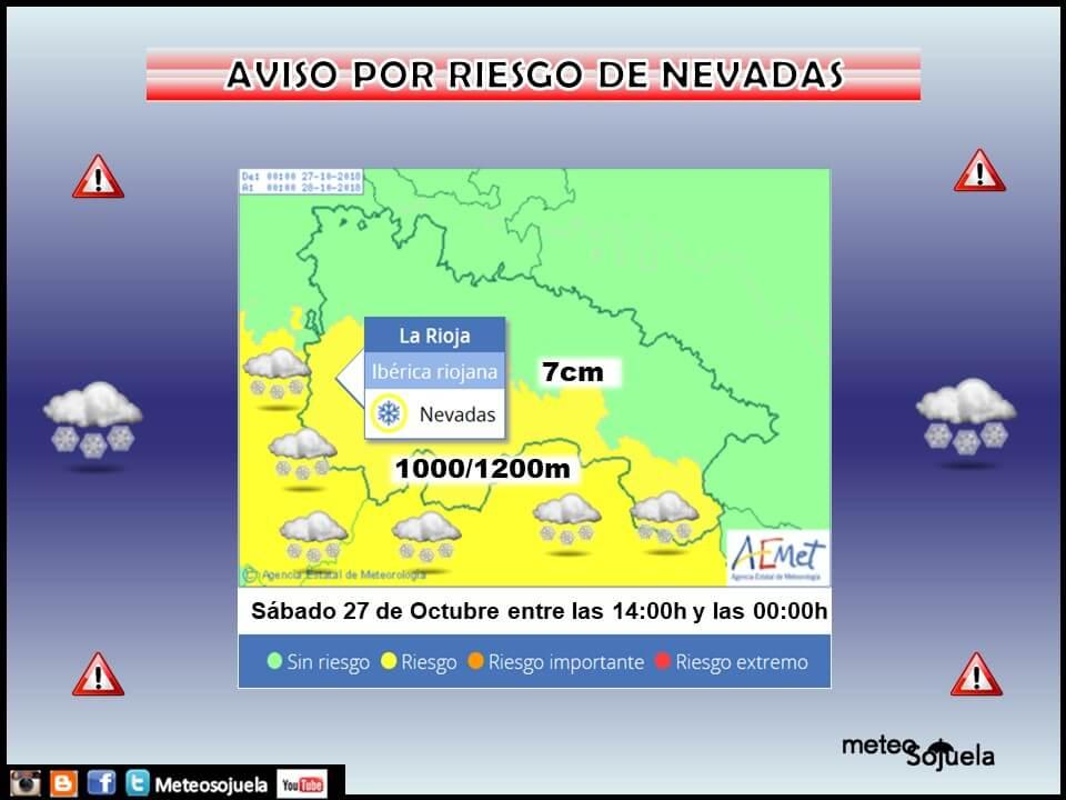 Hasta 12 grados menos y aviso amarillo por nieves en la Ibérica riojana 5
