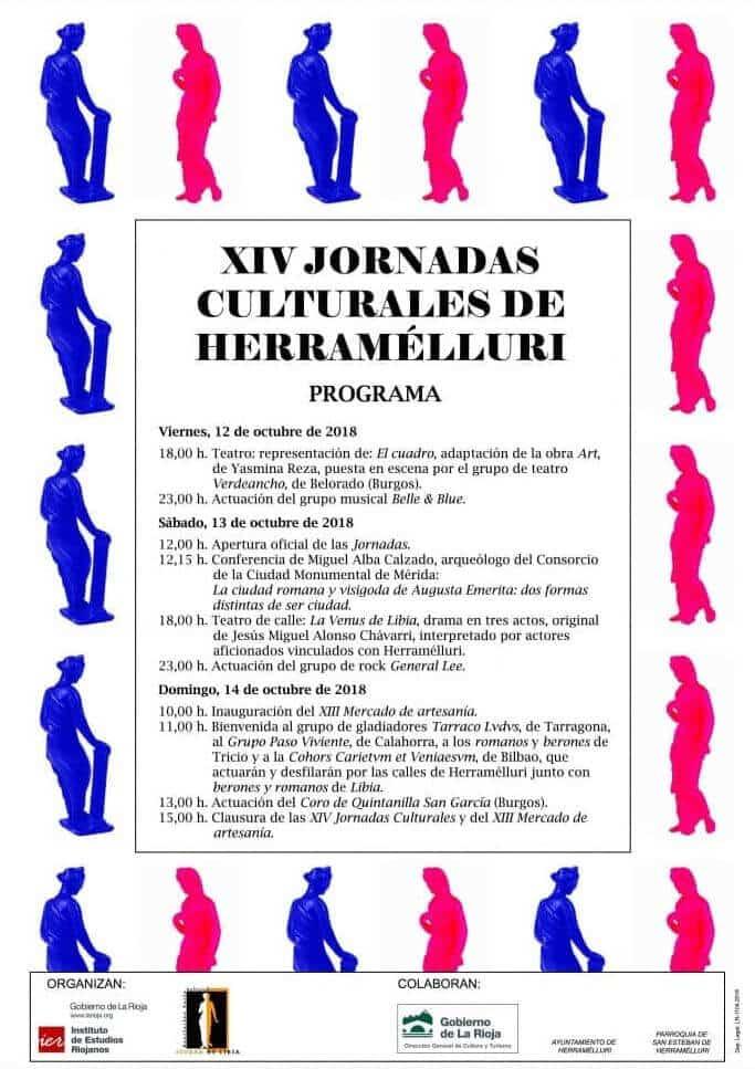 Herramélluri celebra este fin de semana sus XIV Jornadas Culturales 2
