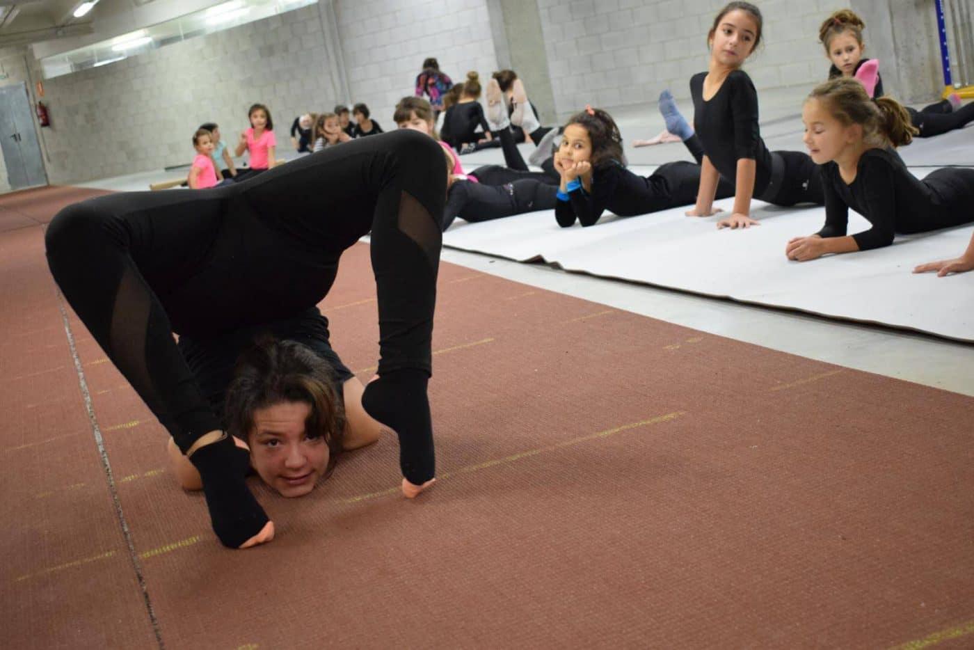 La gimnasia rítmica desembarca con ganas en Haro 1