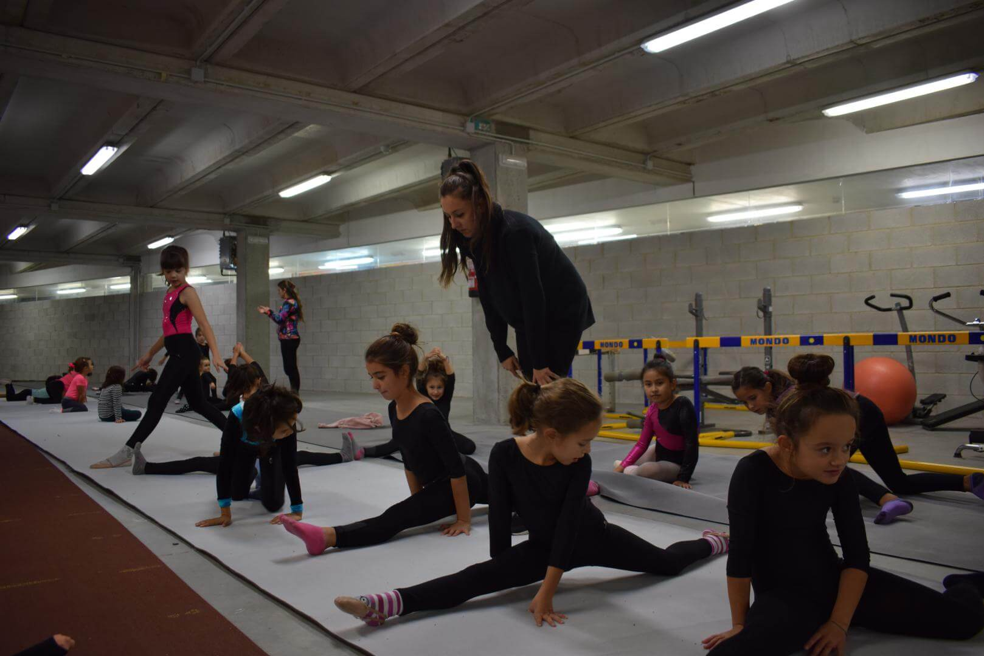 La gimnasia rítmica desembarca con ganas en Haro 3