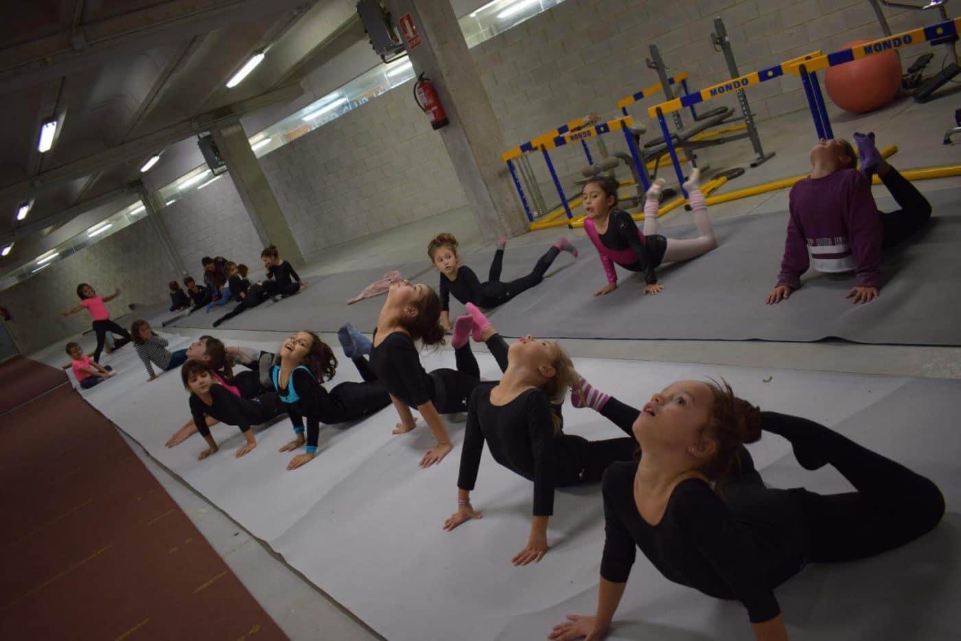 La gimnasia rítmica desembarca con ganas en Haro 5