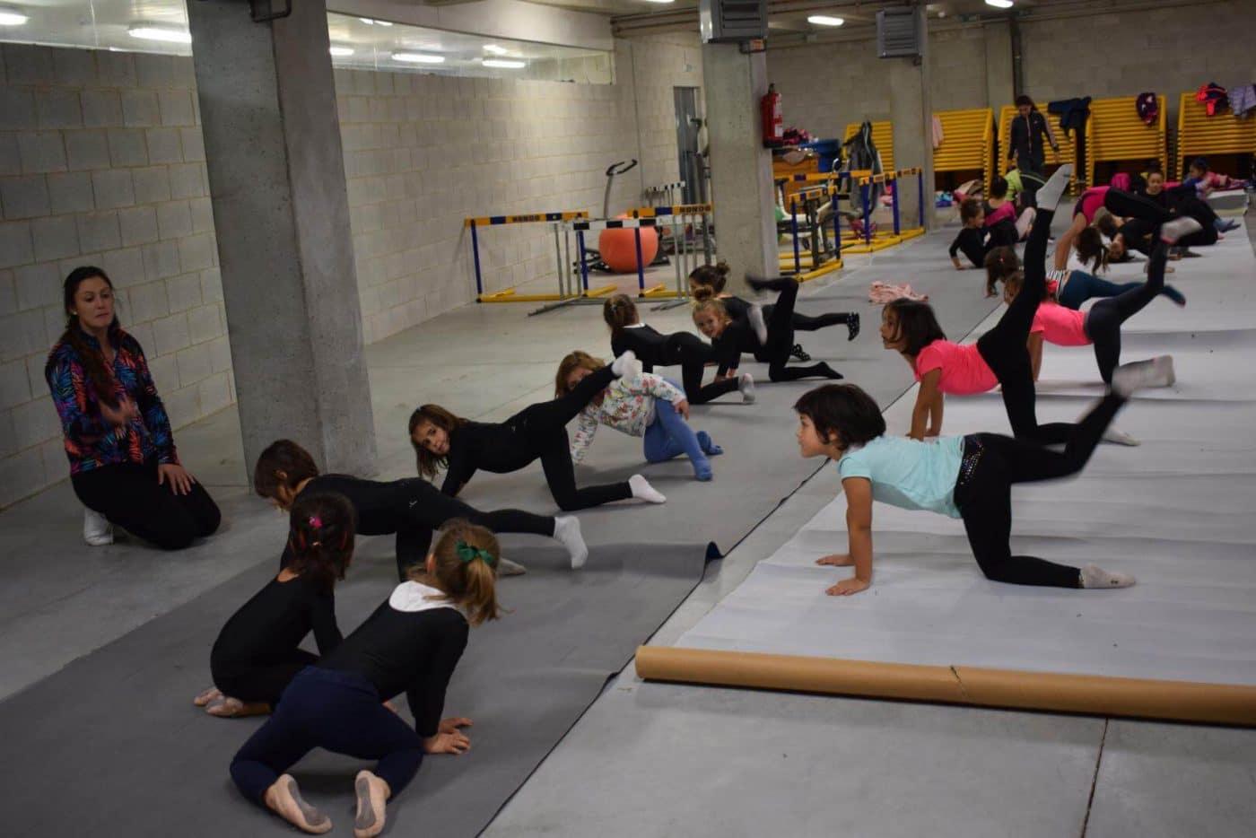 La gimnasia rítmica desembarca con ganas en Haro 7