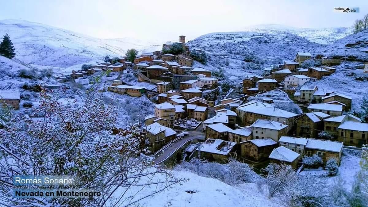Las imágenes de la primera gran nevada del otoño en La Rioja 9