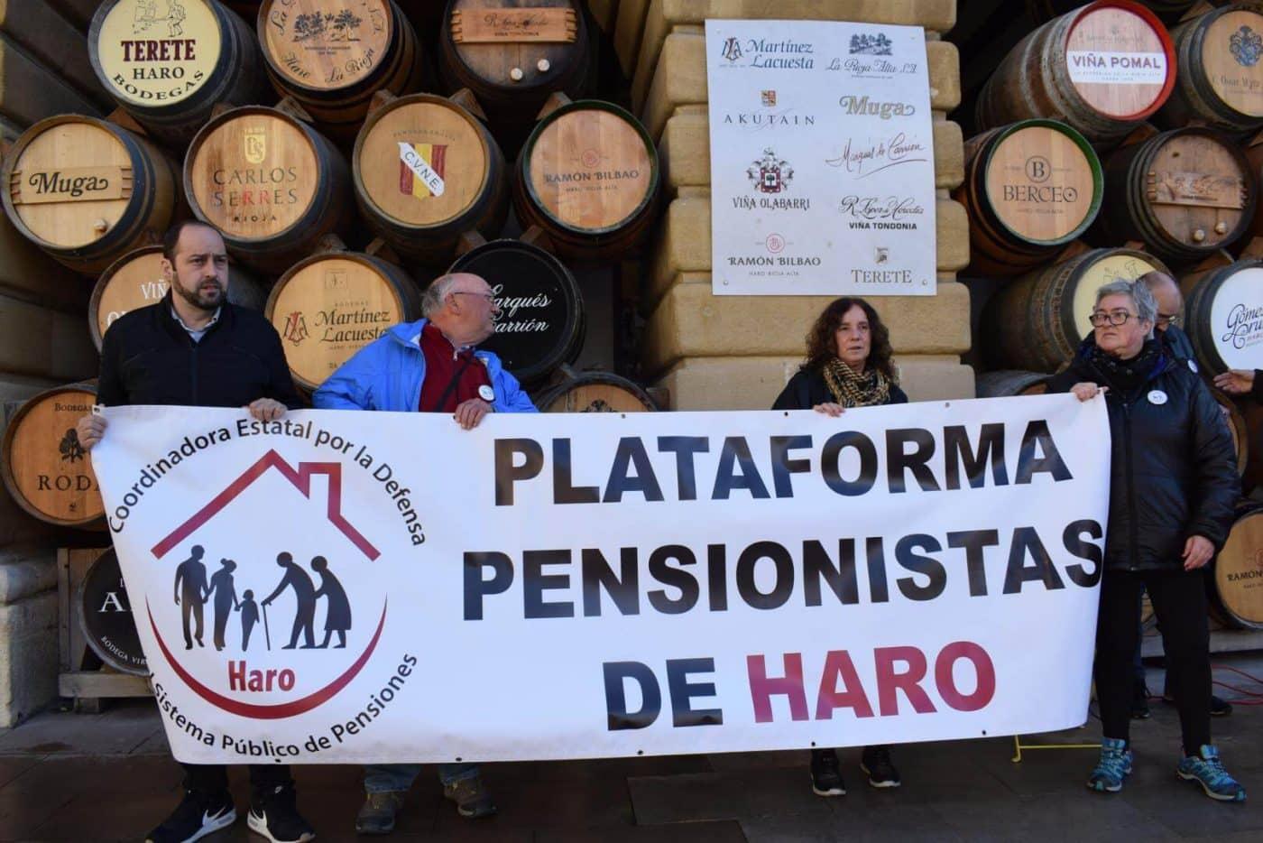 Los pensionistas de Haro vuelven a salir a la calle para exigir unas pensiones públicas justas 1