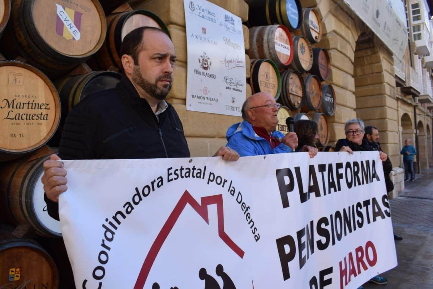 Los pensionistas de Haro vuelven a salir a la calle para exigir unas pensiones públicas justas 3