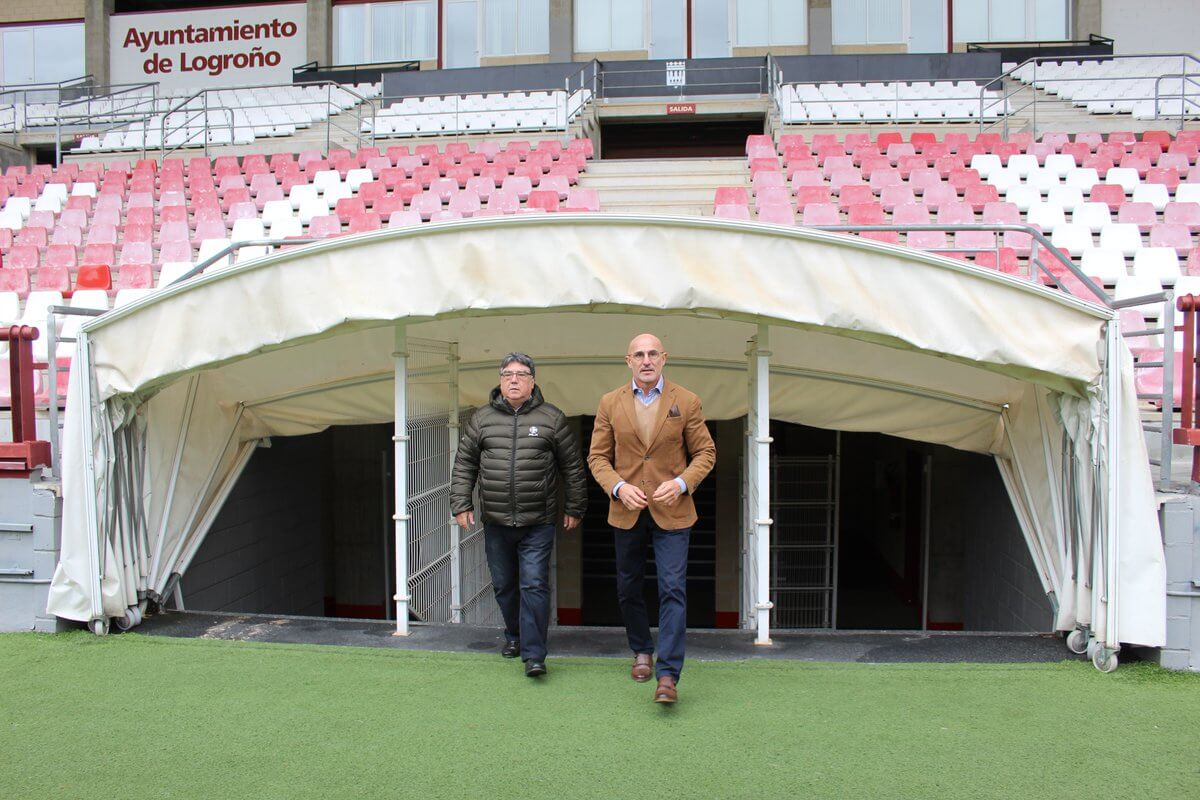 """Luis de la Fuente: """"Es un orgullo estar en mi tierra como seleccionador"""" 2"""