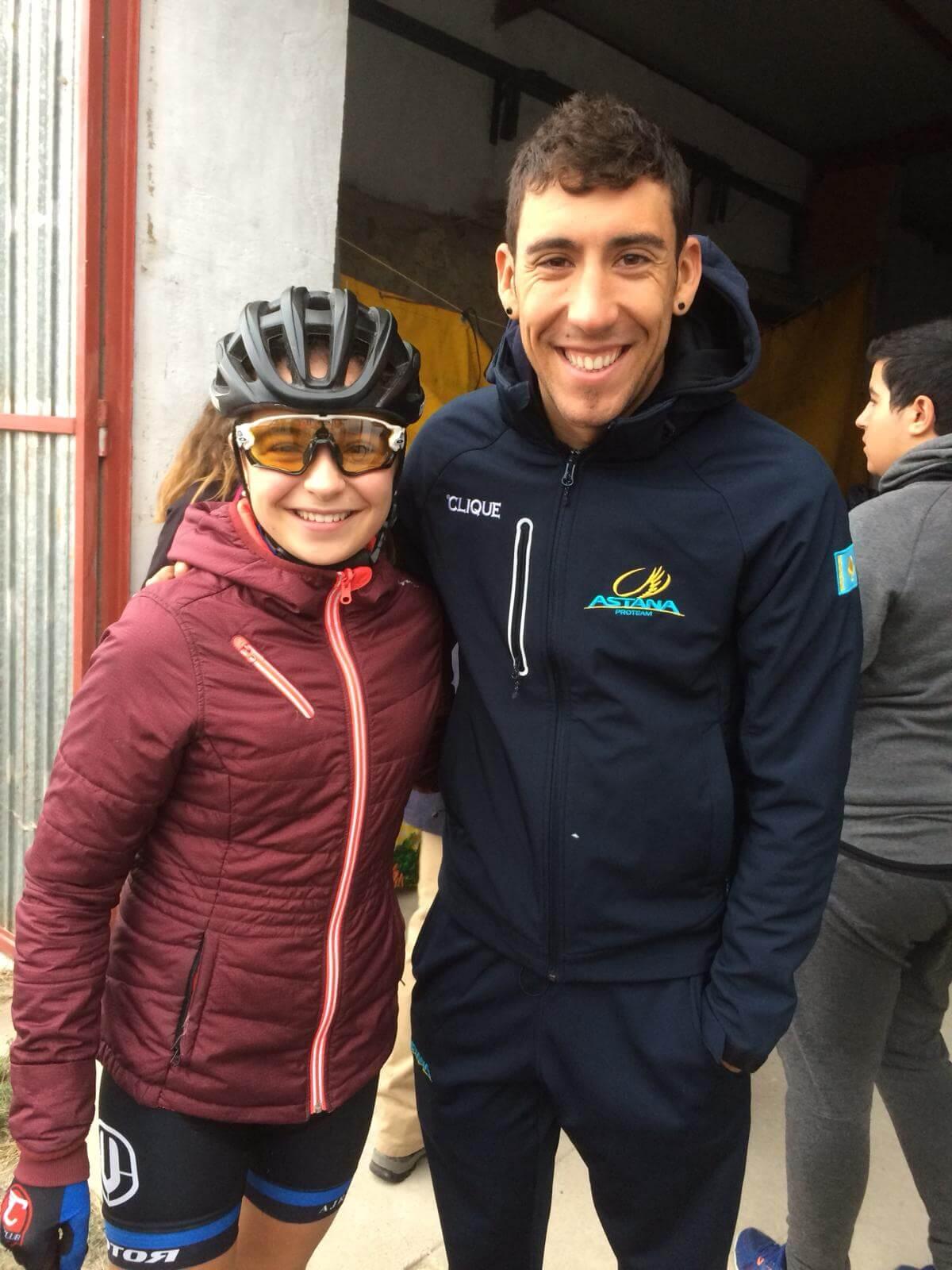María López roza el podio en el Ciclocross de Fresno de Rodilla 5