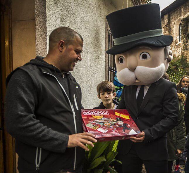 """""""Para un pueblo como Pedroso es un orgullo poder aparecer en el tablero del nuevo Monopoly"""" 3"""