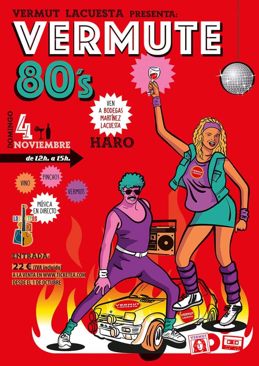 Vermute 80's: un guateque con música de 'Los Otros', vino y vermut en Martínez Lacuesta 1