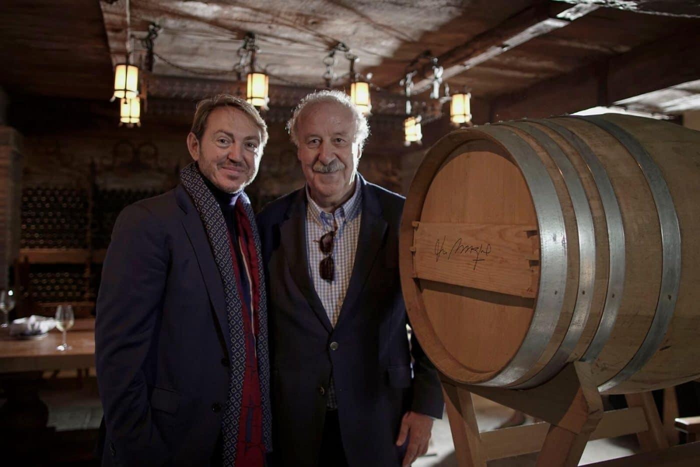 Vicente del Bosque, nuevo patrono de la Fundación Vivanco 1