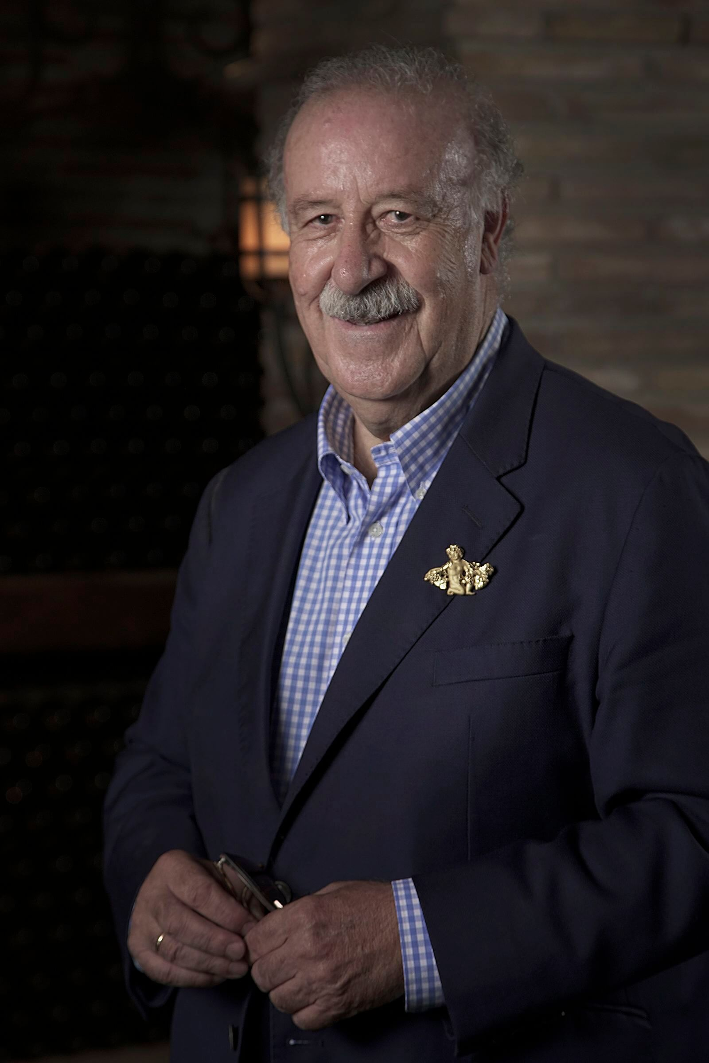 Vicente del Bosque, nuevo patrono de la Fundación Vivanco 2