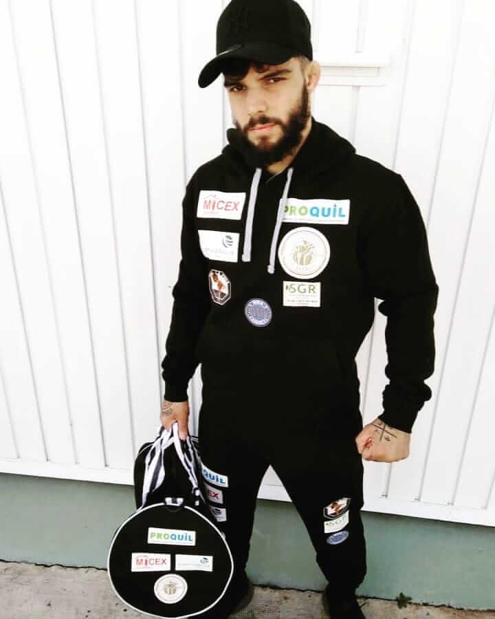 """Ander Sánchez, """"a tope y motivado"""" para el Campeonato del Mundo MMA Amateur 1"""