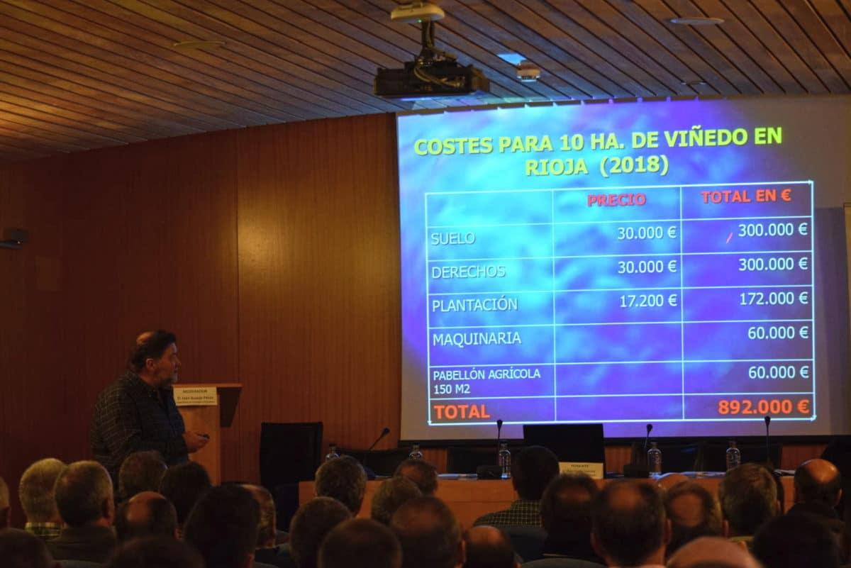 Arrancaron con Juan Carlos Sancha las Primeras Jornadas Técnicas de AVIRA en Vivanco 9