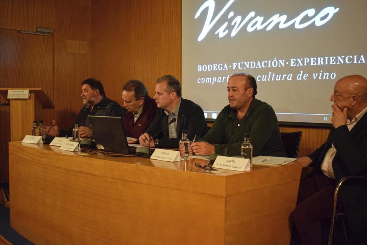 Arrancaron con Juan Carlos Sancha las Primeras Jornadas Técnicas de AVIRA en Vivanco 3