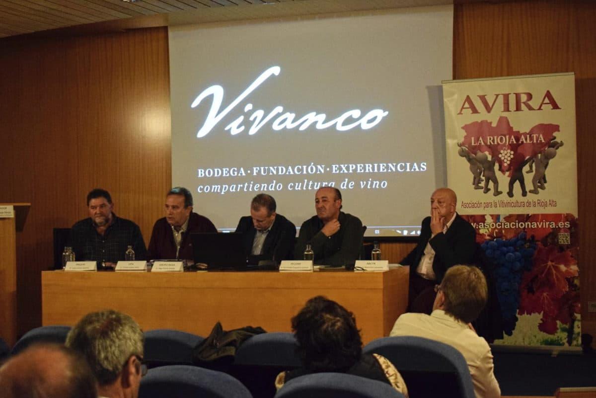 Arrancaron con Juan Carlos Sancha las Primeras Jornadas Técnicas de AVIRA en Vivanco 4