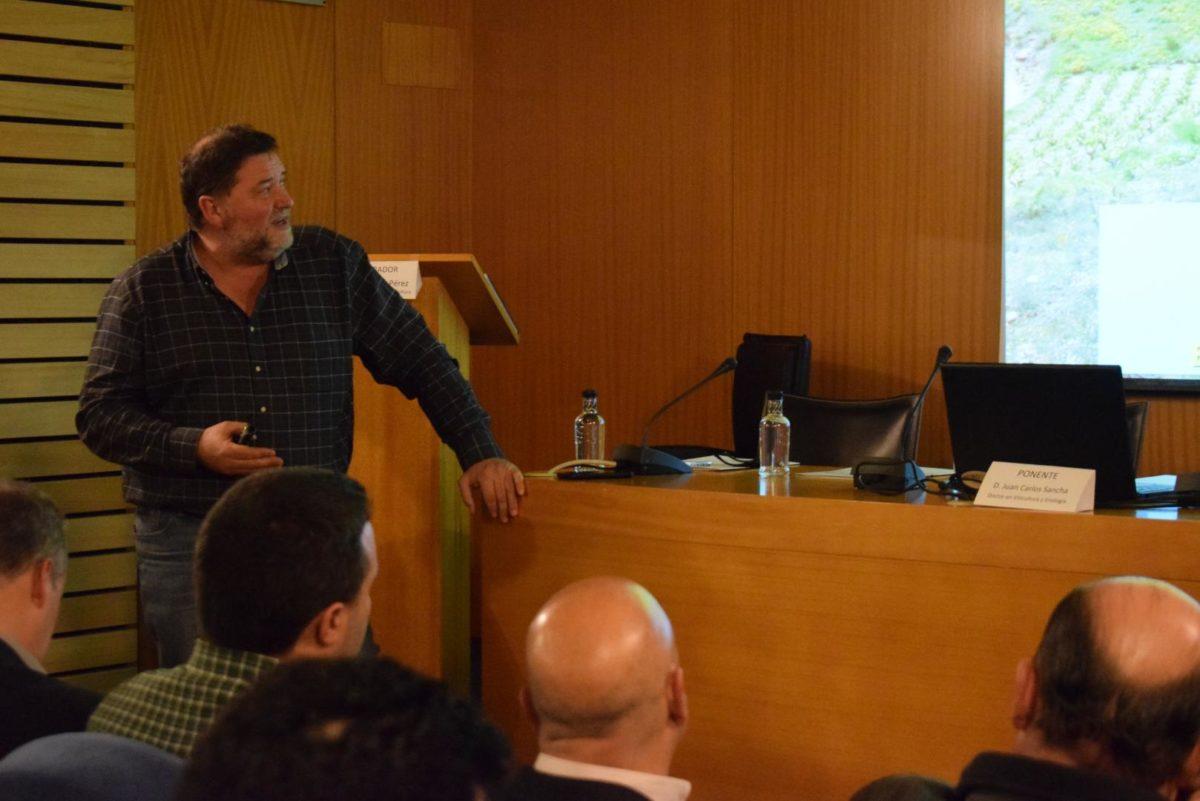 Arrancaron con Juan Carlos Sancha las Primeras Jornadas Técnicas de AVIRA en Vivanco 6