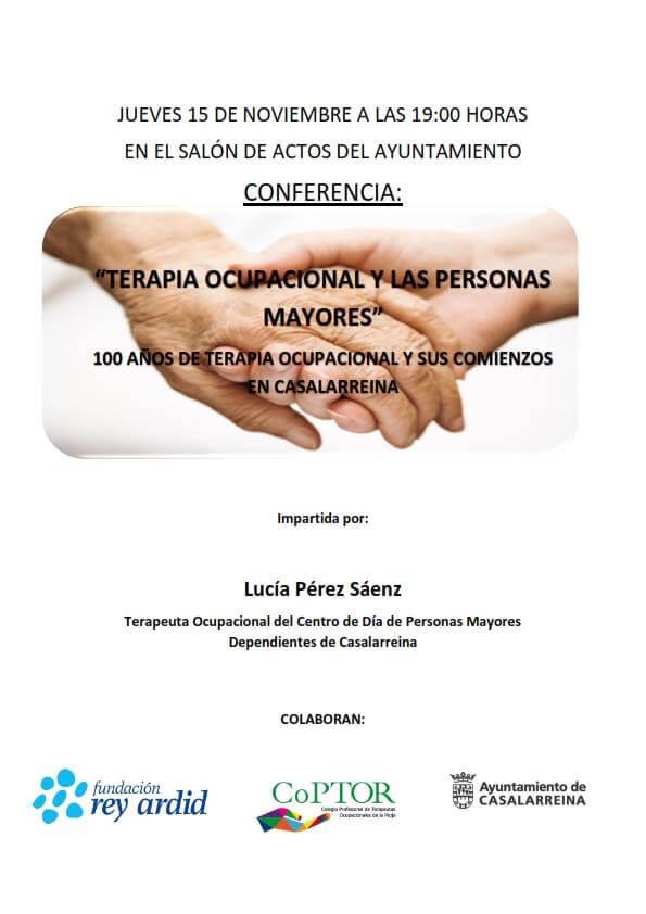 Casalarreina acoge este jueves una conferencia sobre la terapia ocupacional y las personas mayores 1
