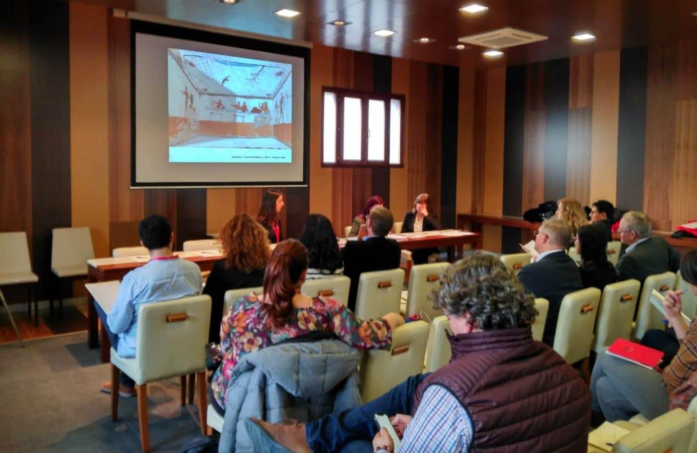 El I Congreso Internacional Lengua, Literatura, Vino y Territorio pasa por Bodegas Muga 1