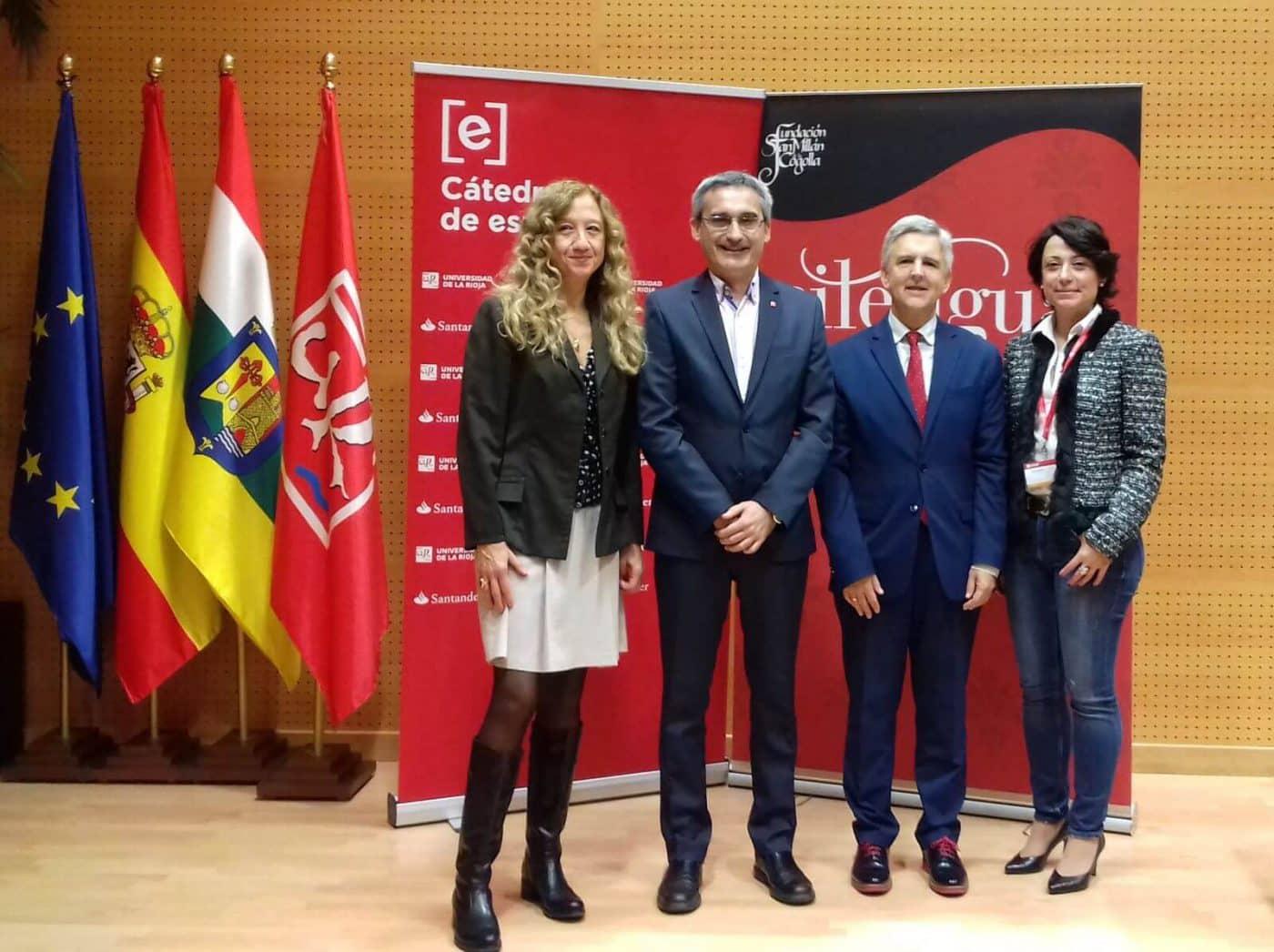 El I Congreso Internacional Lengua, Literatura, Vino y Territorio pasa por Bodegas Muga 2