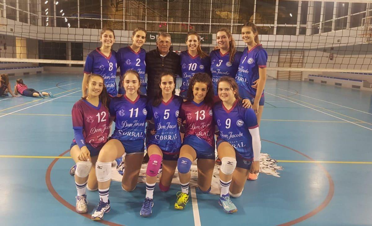 El OSACC Haro defenderá en Tenerife la segunda plaza de la Liga Iberdrola 1