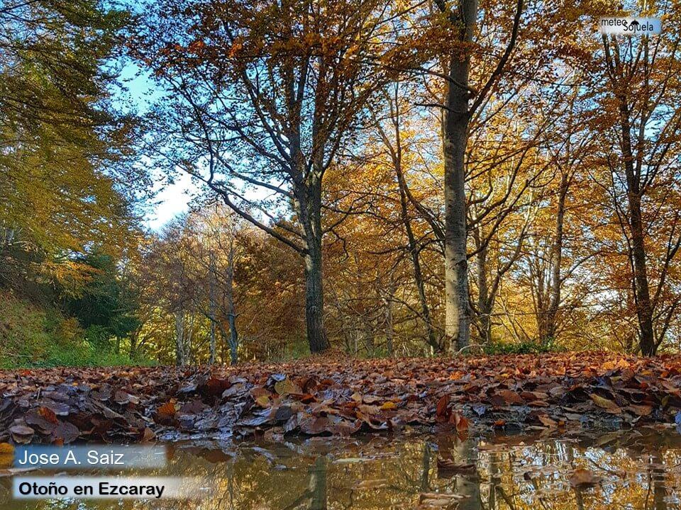 El otoño se instala en La Rioja Alta con temperaturas altas para esta época 6