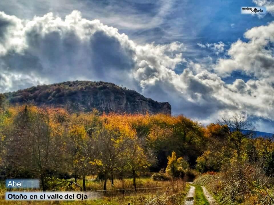 Estampas otoñales en una semana con tiempo revuelto y variable en La Rioja Alta 4