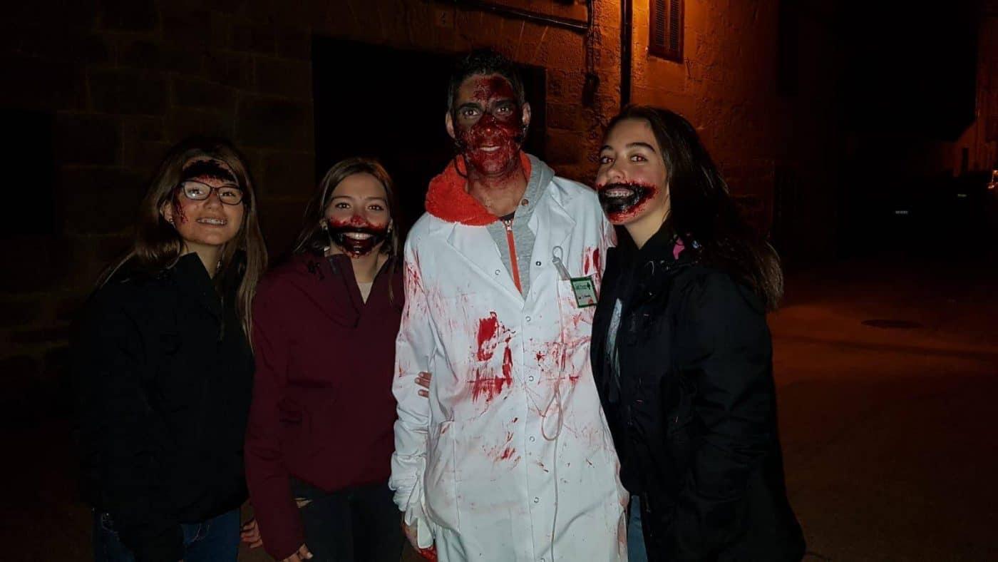 Fonzaleche se transformó en un terrorífico hospital para celebrar Halloween 2