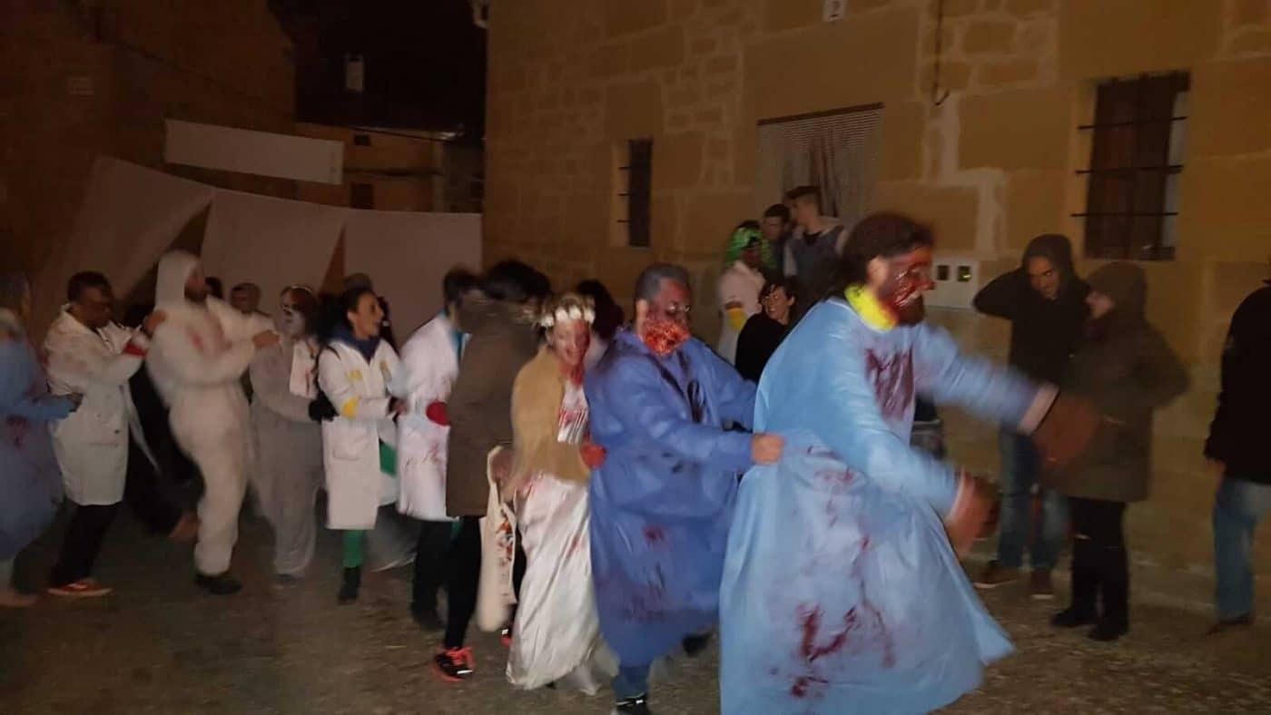 Fonzaleche se transformó en un terrorífico hospital para celebrar Halloween 4