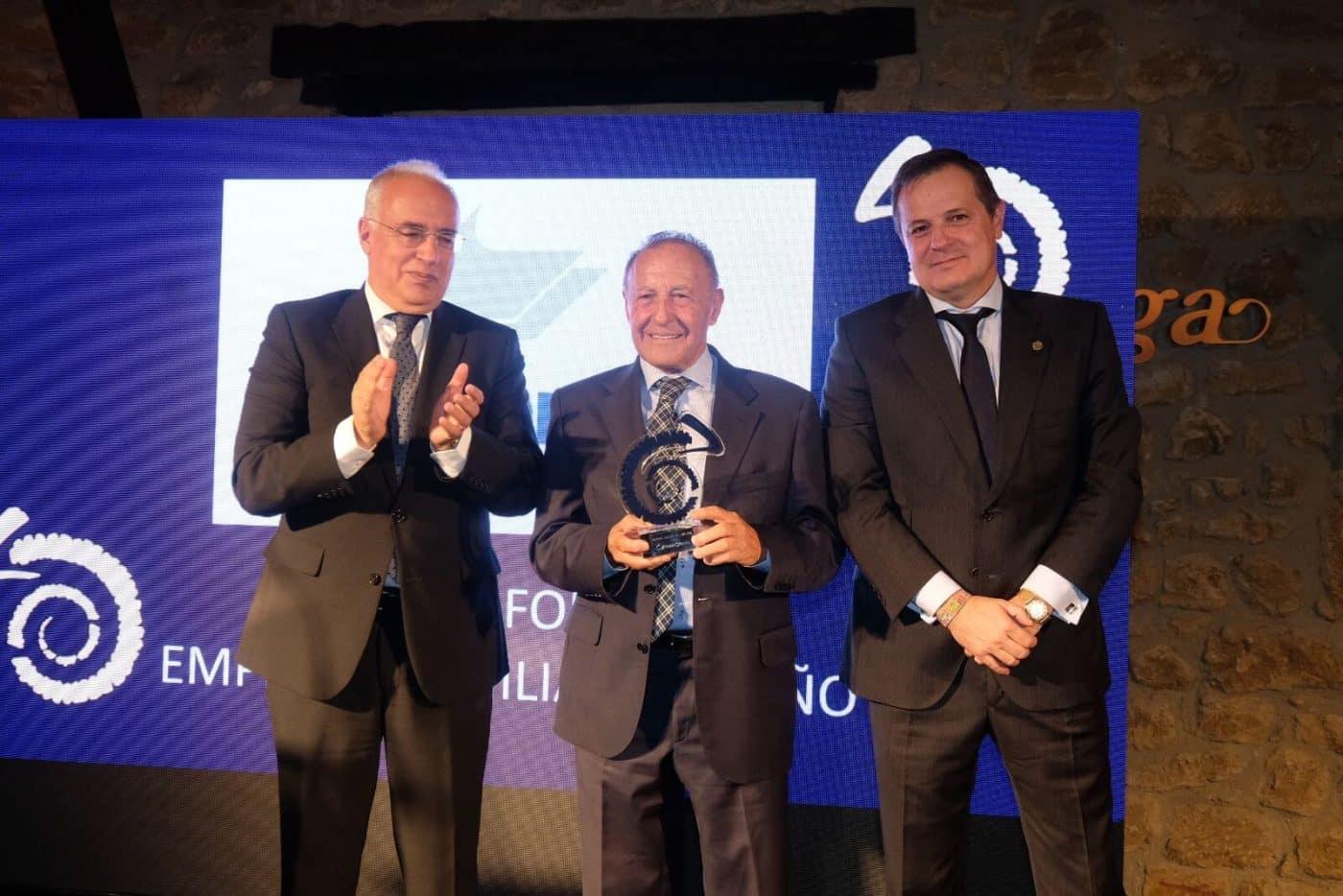 Grafometal recibe en Bodegas Muga el Premio a la Empresa Familiar 2018 2
