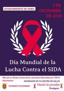 Haro lanza una campaña de sensibilización en el Día Mundial de la Lucha contra el SIDA 1